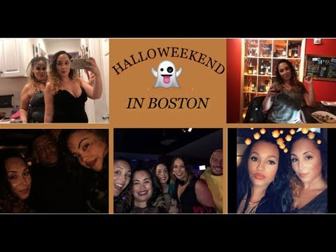 HALLOWEEKEND IN BOSTON VLOG   RED SOX WIN WORLD SERIES 2018   CITY OF CHAMPS