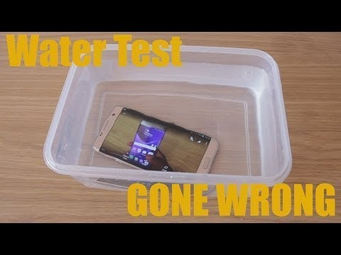 Android Smartphone Water Submersion Test