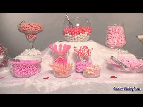 How to Set Up a Candy Buffet Table