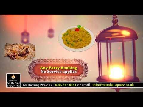 Advert Mumbai Square Restaurant for Ramadan | GM Furuk