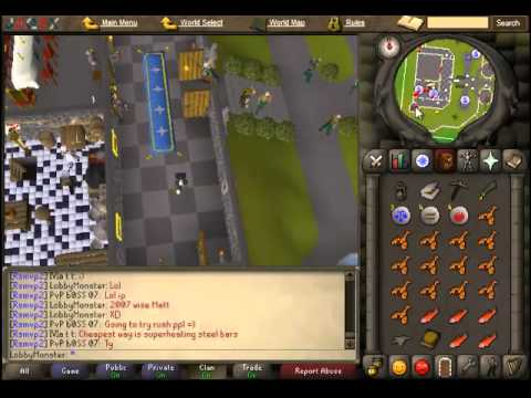 The Lost Tribe Quest on RuneScape 2007 Old School Server