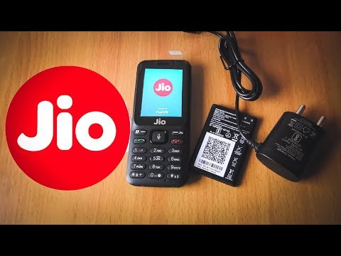 Jio Phone F50Y Black Unboxing & Hands On
