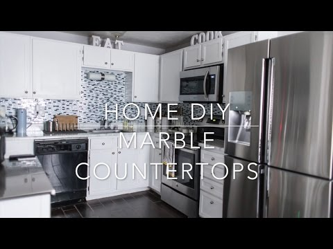 Home DIY: Marble Countertop