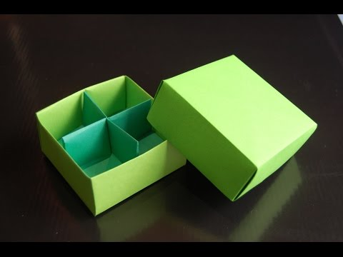 Origami  Box (Traditional / Box Divider - Paolo Bascetta)