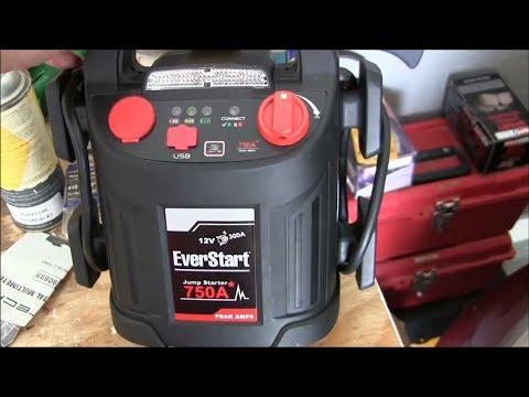 EverStart Jump Starter/Air Compressor- Use/Review plus multimeter use