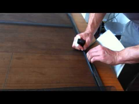 How to replace fly screen mesh.MOV