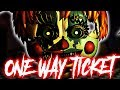 """One Way Ticket"" - FNaF Song by NateWantsToBattle [FNAF LYRIC VIDEO] Mp3"