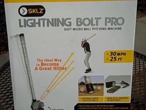 Sklz Lightning Bolt Pitching Machine Review