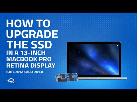 How to Upgrade the SSD in a 13-inch MacBook Pro w/ Retina display (Late 2012–Early 2013) UPDATED
