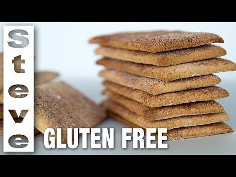 GLUTEN FREE GRAHAM CRACKERS - How to Make