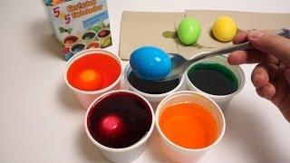 DIY Đồ chơi trẻ em, Bộ nhuộm màu trứng Phục Sinh