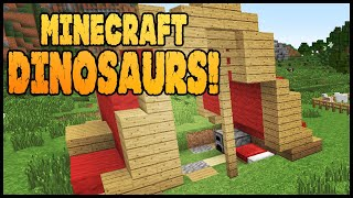 Minecraft Dinosaurs! || 543 || Dinosaur Tracks! - PakVim net HD