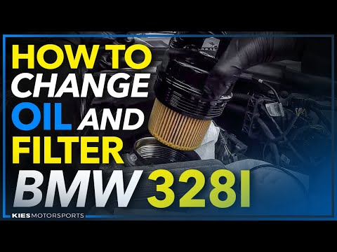 BMW F30 328i Oil and Oil Filter Change