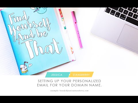 how to set-up your personalized email address