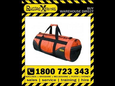 Rugged Xtremes PVC Orange Duffle Bag