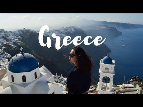 Greece Travel Diary | Athens, Mykonos & Santorini
