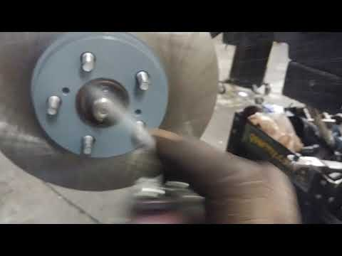 2014 toyota Corolla front brakes and rotor install