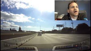 Download Tesla Autopilot Fail ! Our Tesla Model S bounces off wall. Video