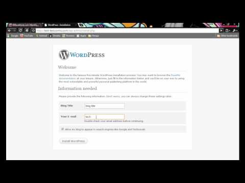 how to get a wordpress blog + free domain part 3