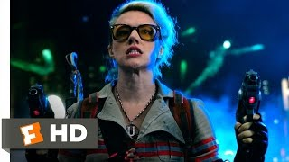 Ghostbusters (9/10) Movie CLIP - Battling the Ghosts (2016) HD