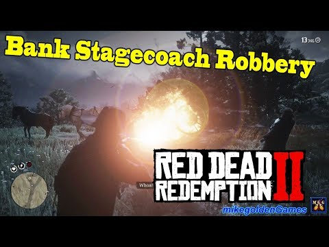Robbing a Bank Stagecoach with Bill | Red Dead Redemption 2 Episode 20