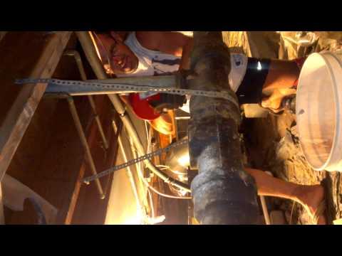 DIY sewer line unclog