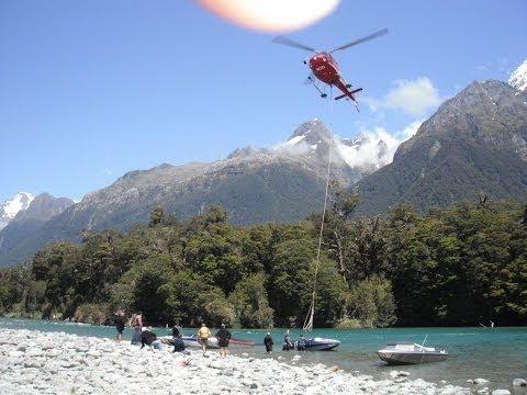 Jet Boating the Hollyford - Fiordland New Zealand