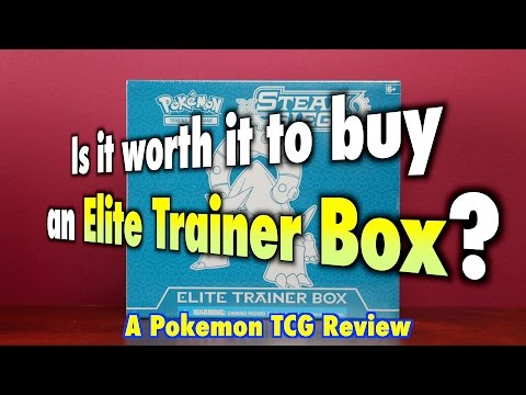Is it worth it to buy an Elite Trainer Box? A Pokemon TCG Review and Opening