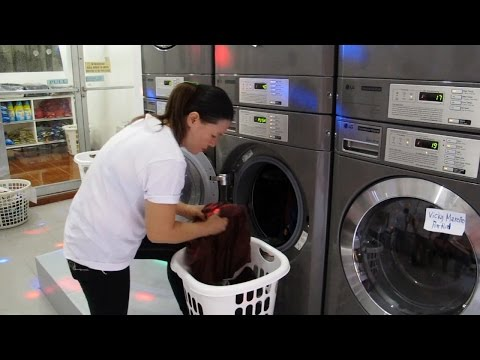 Washing Machine and Dryer - LG coin operated self service
