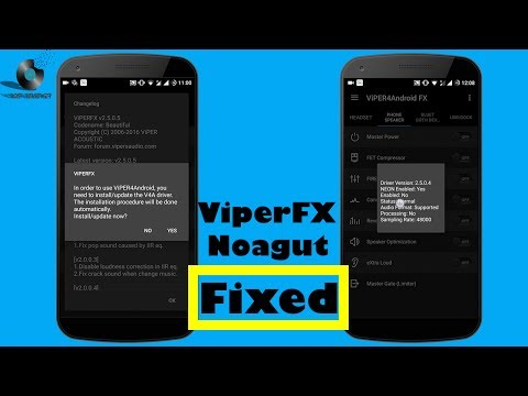 Viper4Android FX Nougat Drivers Installation issue fixed and Installetion Guide