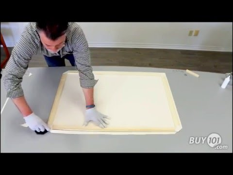 How to DIY Canvas Stretch Frame Kits