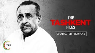 Naseeruddin Shah | Character Promo 3 | The Tashkent Files | A ZEE5 Original | Streaming Now On ZEE5