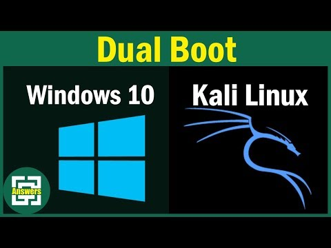 How to Dual Boot Kali Linux with Windows 10 + Troubleshoot a common Error