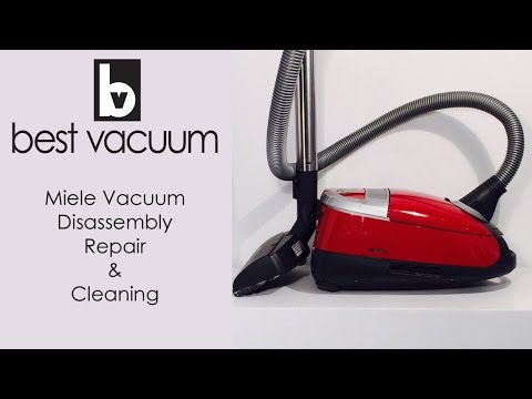 Best Vacuum Repair - See How We Repair and Recondition a Miele Vacuum