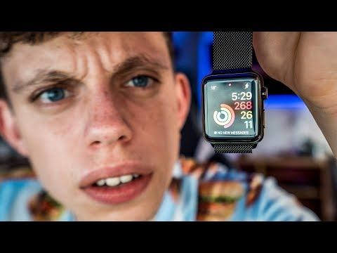 I'M RETURNING THIS APPLE WATCH - SO ANNOYED *SERIES 3*