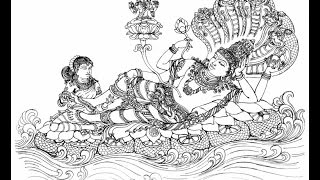 Om namo narayanaya chanting mantra meditation powerful lord vishnu