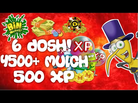 Bin Weevils - Mulch, Dosh And XP Codes (All Working 2017)