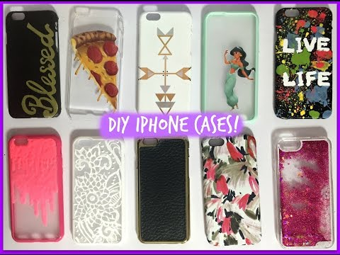 DIY iPhone Cases + iPhone 6 Case Collection! ♡ Updated