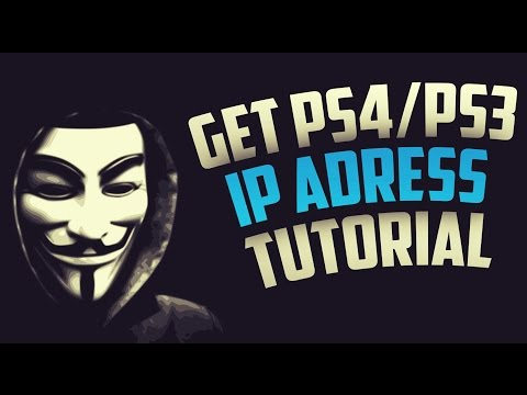 Get IP Address From PS4/PS3