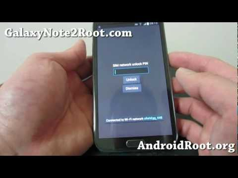 How to Unlock SIM on Galaxy Note 2/Galaxy S3!