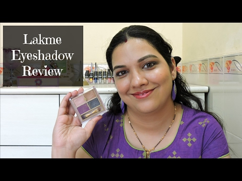 Lakme Eyeshadow Quad Silk Route Review   beautywithsneha