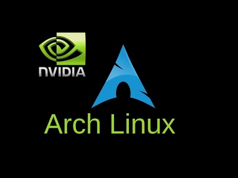 Arch Linux. Install Nvidia Proprietary Drivers