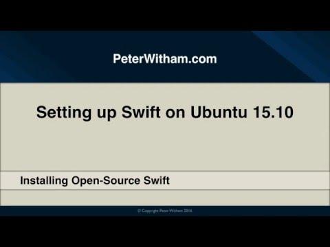 How to setup Apple Swift on Ubuntu 15.10