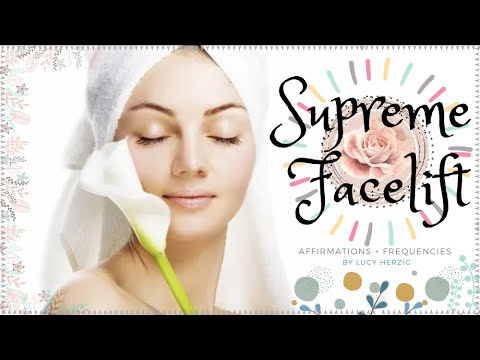 ULTIMATE FACELIFT! (All in One) + Perfect Flawless Skin (Rain Sounds)  Subliminal + Frequency