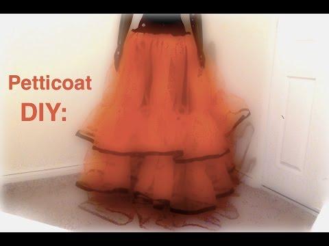 Petticoat DIY: How to make a Petticoat for Summer.....