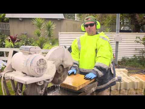 How to Cut Pavers Safely and Properly using a Brick Saw | Adbri Masonry