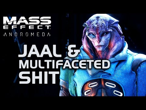 Mass Effect Andromeda - Jaal & Multifaceted Shit :D