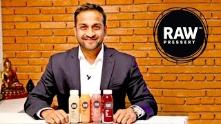 Anuj Rakyan Founder & MD Of Rakyan Beverages Talks About Raw Pressery