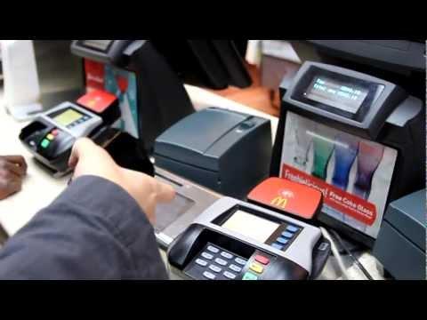 Using Google Wallet at McD (Nexus 4G)