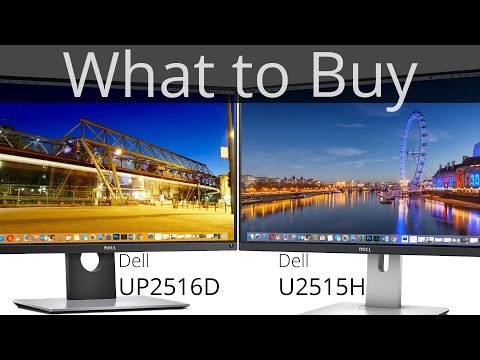 Dell U2515H vs. UP2516D Comparison | What to Buy | TechCentury